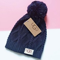 UGG Fashion Casual Women Men Crochet Hat