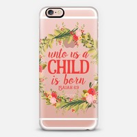 Isaiah 6:9 - Christmas iPhone 6s case by The Olive Tree | Casetify