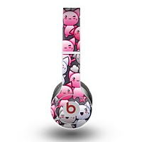 The Cute Abstract Kittens Skin for the Beats by Dre Original Solo-Solo HD Headphones
