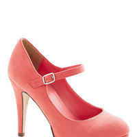 ModCloth Ambrosia to the Occasion Heel