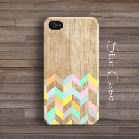 iPhone 5 Case, iPhone 5s Case, Wood Print iPhone 4 Case iPhone 4s Case Pastel iPhone 5 Cover Tribal Aztec Navajo Cute iPhone 5 5s 4 4sCase