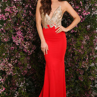 Stella Gown Red