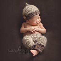 Newborn Baby Girls Boys Crochet Knit Costume Photo Photography Prop = 4457565572