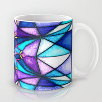 Stained Snowflake. Mug by Emiliano Morciano (Ateyo)