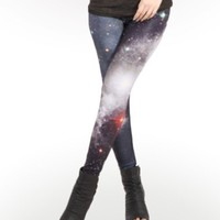 Pink Galaxy Leggings : Comfortable Legging Pants