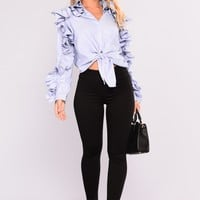 Super Fabulous Skinny Jeans - Black