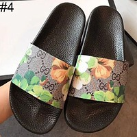 GUCCI counter summer new fashion leisure vacation beach slippers F0339-1 #4