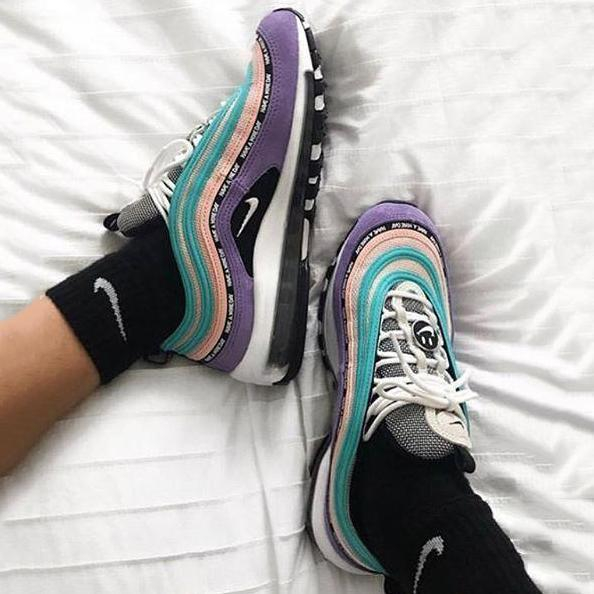 Image of Nike Air Max 97 GS Fashion Casual Sneakers Sport Shoes