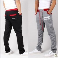 Men's Fashion Men Stylish Casual Pants Plus Size Sportswear [6541730179]