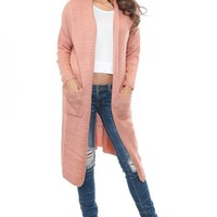 Knitted Long Cardigan - Foreign Exchange