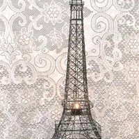 "Eiffel Tower Paris, France, 28"" Black Metal Wire Statue ~ M16 Decor, Gifts ~ French Eiffel Tower Replica, Centerpiece, Room Décor, Jewelry Stand, Tea Candle Holder"