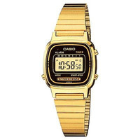 Casio Ladies Gold Tone Digital Watch Vintage Classic Retro LA670WGA-1D LA670WG