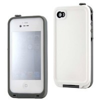 Generic MC0104 Cell Phone Case for iPhone 4 4s 4G - Non-Retail Packaging - White
