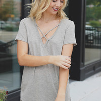 Lone Wolf Top - Taupe