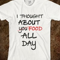 THOUGHT ABOUT FOOD
