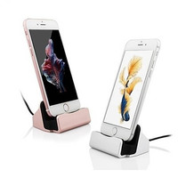 iPhone Charger Dock,BAVIER iPhone Desk Charger,Charge and Sync Stand for Android iPhone 7 7Plus & iPhone se 5s 6 6 Plus,iPhone Charger Station,Charge cradle,desktop iphone charger Gift