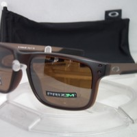 Oakley Polarized Holbrook Mix OO9384-0857 Matte Rootbeer /Prizm Tungsten Iridium
