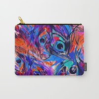 Rapture II  Carry-All Pouch by Holly Sharpe