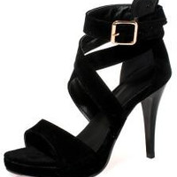 High Heel Cut-outs Sandals