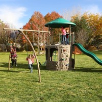 Lifetime Adventure Tower Playset | Overstock.com Shopping - The Best Deals on Swing Sets