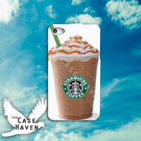 Starbucks Frappacino love funny cute tumblr Custom iPhone Case for iPhone 4 and 4s and iPhone 5 and 5s and 5c Case