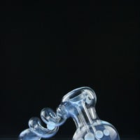 Totem Glass Coil Spiral Bubbler