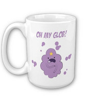 Adventure Time With Finn And Jake Lumpy Space Princess Oh My Glob Mug / Cup 11oz