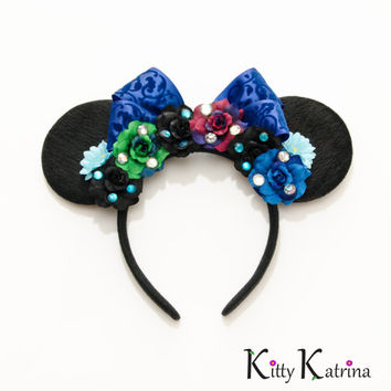 Princess Anna Mouse Ears Inspired Headband, Princess Anna Dress, Princess Anna Costume, Princess Anna Crown, Frozen Birthday Party