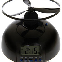 Flying Alarm Clock: Trouble waking up? This will do the trick!