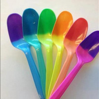 MAGIC Color Changing Frozen Yogurt Ice Cream Spoons