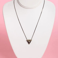 Ra's Retreat Black and Gold Stud Necklace