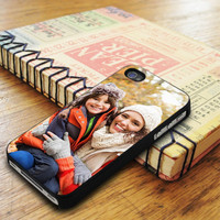 Casual Woman Kneeling iPhone 5 Or 5S Case