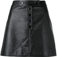 Courrèges Buttoned Mini-skirt - Farfetch