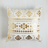 Boho Remains to Be Sheen Pillow by ModCloth