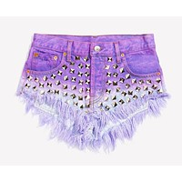 Wunderlust Dream Studded Babe Shorts