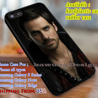 Cool Captain Hook Once Upon a Time iPhone 6s 6 6s+ 5s 5c 4s Cases Samsung Galaxy s5 s6 Edge+ NOTE 5 4 3 #movie #disney #animated #onceuponatime dl3