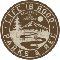 Parks And Rec Sticker|Life is good
