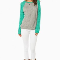 DOYLE SWEATER IN MINT