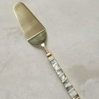 Mother-Of-Pearl Pie Server by Anthropologie in Light Grey Size: Pie Server Kitchen
