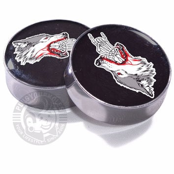 Metal Wolf - Image Plugs