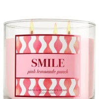 3-Wick Candle Smile - Pink Lemonade Punch