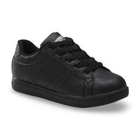 Boy's Contact Black Athletic Shoe