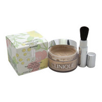 blended face powder and brush - # 20 invisible blend - all skin types by clinique 1.2 oz