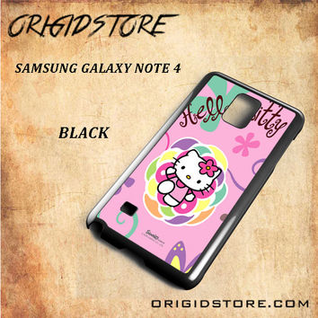 hello kitty 2 For Samsung Galaxy Note 4 Case - Gift Present Multiple Choice