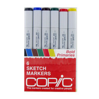 Bold Primaries Copic Sketch Marker Set | Hobby Lobby