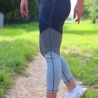 Jadelynn Brooke: 3 Tier Yoga Leggings {Charcoal Mix}