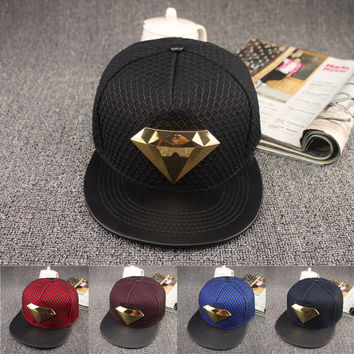 Superman Diamond Adjustable Casual Hip Hop Cap