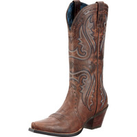 Ariat Sassy Brown-12 Top Cowgirl Boots