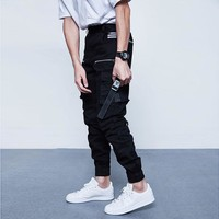 Men's Fashion Casual With Pocket Slim Pants [411395915805]
