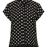 Petite Spot Print Shirt - New In This Week  - New In